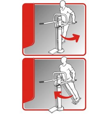 Kojų treniruoklis SM204-T | 2
