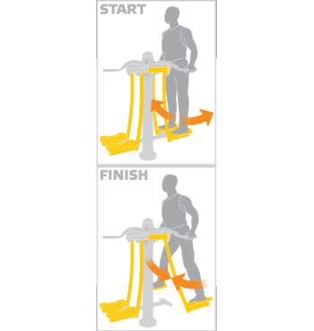 Kojų treniruoklis SMP142.1 | 3