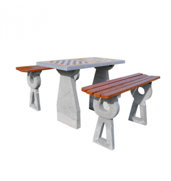 Betoninis šachmatų stalas 522 | 1