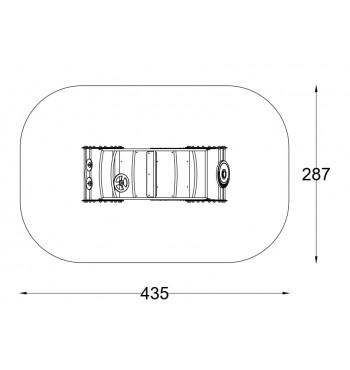 Spyruoklinės sūpynės A3010S | 3