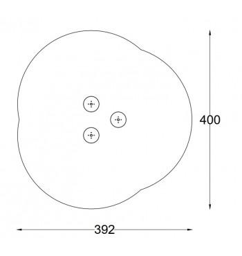 Kliūčių ruožas (3vnt.) A3608S | 2