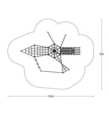 Kliūčių ruožas A3640S | 4