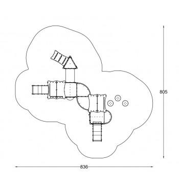 Žaidimų kompleksas A6212 | 3