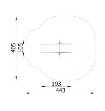 Čiuožykla mažiesiems N7202 | 4