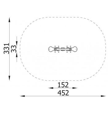 Spyruoklinė sūpynė N3107 | 4