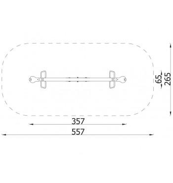 Spyruoklinė sūpynė N3108 | 5