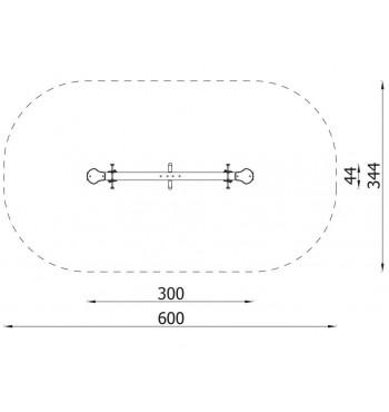Balansinės sūpynės N3109 | 4