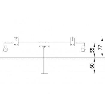 Balansinės sūpynės N3110   3