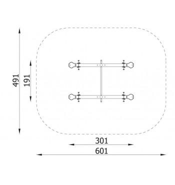 Balansinės sūpynės N3110   4