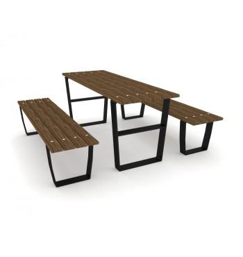 Stalas su suoliukais 0914 | 1
