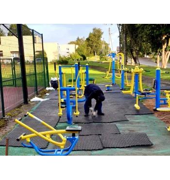 Korėta danga vaikų žaidimų aikštelei | 3