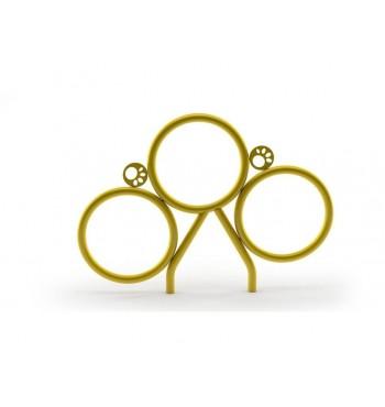 Šokinėjimo per žiedus...