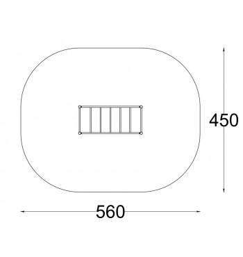 Horizontalios laipiojimo kopetėlės A3629S | 2