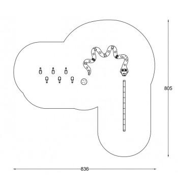 Kliūčių ruožas A3638S | 2