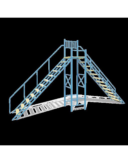 A-formos laiptai šunims BO006