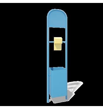 Šiukšliadėžė/informacinis stendas BO016 | 1