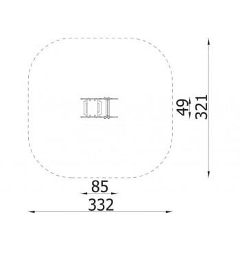 Spyruoklinės sūpynės 3058EPZ | 3