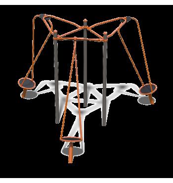 Trivietė karuselė TE228.3