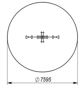 Karuselė TE223 | 2
