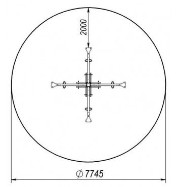 Karuselė TE223.4 | 2