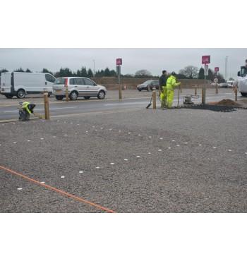 Perdirbto plastiko korys parkingui | 6