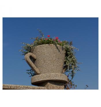 Betoninė gėlinė I221D | 3