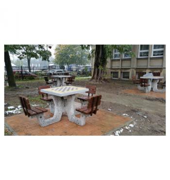 Betoninis šachmatų stalas 513 | 2