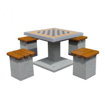 Betoninis šachmatų stalas 514 | 1