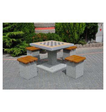 Betoninis šachmatų stalas 514 | 3