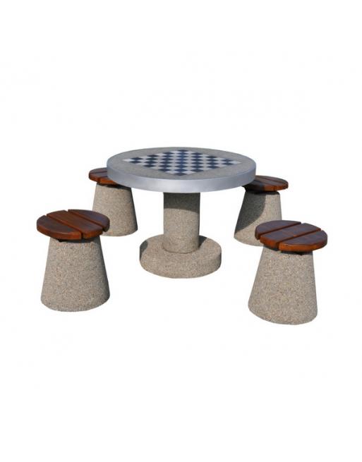Betoninis šachmatų stalas 521
