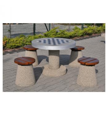 Betoninis šachmatų stalas 521 | 2