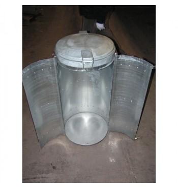 Perdirbto plastiko šiukšliadėžė Stora AT4852130 | 2