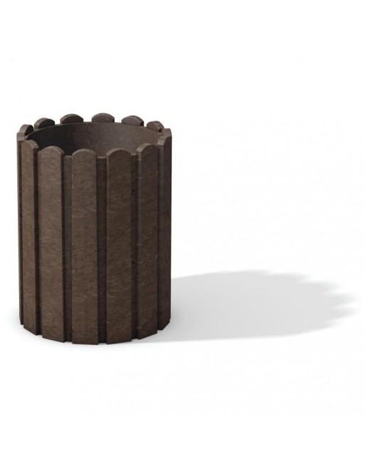 Perdirbto plastiko šiukšliadėžė  Scori AB375250