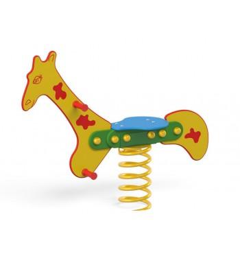 """Spyruoklinė sūpynė """"Žirafa""""..."""