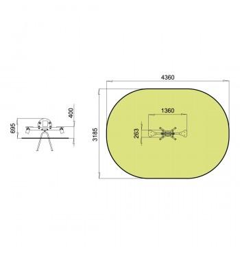Balansinės sūpynės TE210 | 2