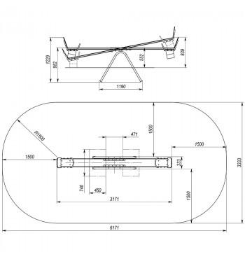 Balansinės sūpynės TE213 | 2